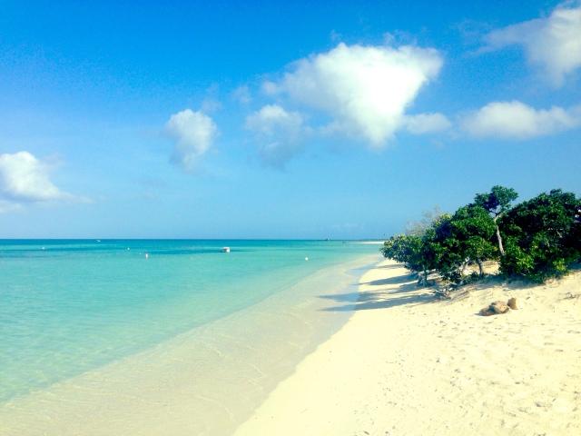 typisk strand på vestsiden 2 - palm beach