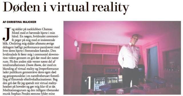 døden i virtual reality